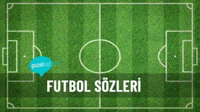 Photo of Futbol Sözleri