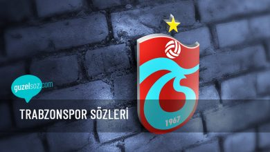 Photo of Trabzonspor Sözleri