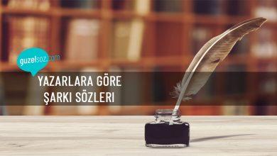 Photo of Yazarlara Göre Şarkı Sözleri