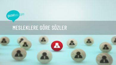 Photo of Mesleklere Göre Sözler