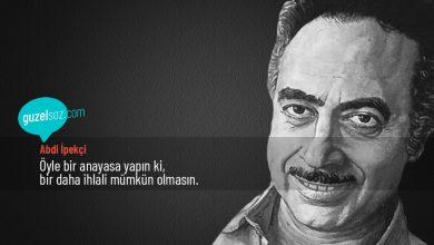 Photo of Abdi İpekçi Sözleri
