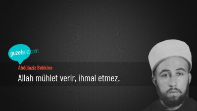 Photo of Abdülaziz Bekkine Sözleri