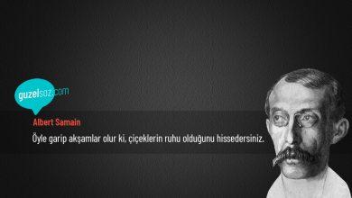 Photo of Albert Samain Sözleri