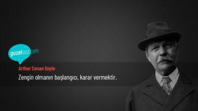 Photo of Arthur Conan Doyle Sözleri