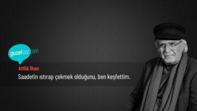Photo of Attilâ İlhan Sözleri
