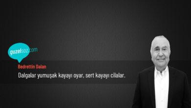 Photo of Bedrettin Dalan Sözleri