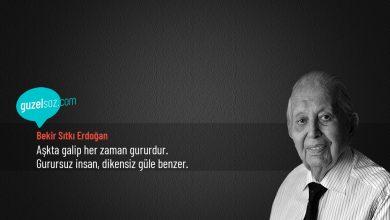 Photo of Bekir Sıtkı Erdoğan Sözleri