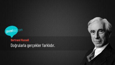Photo of Bertrand Russell Sözleri
