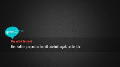 Photo of Beyazid-i Bestami Sözleri