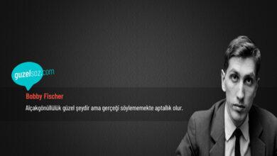 Photo of Bobby Fischer Sözleri