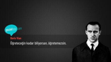 Photo of Boris Vian Sözleri