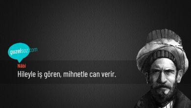 Photo of Nâbi Sözleri