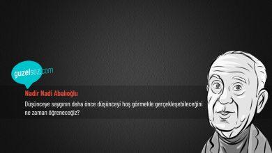 Photo of Nadir Nadi Abalıoğlu Sözleri