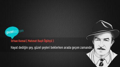 Photo of Orhan Kemal ( Mehmet Raşit Öğütçü ) Sözleri