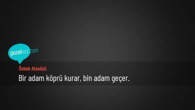 Photo of Özbek Atasözleri