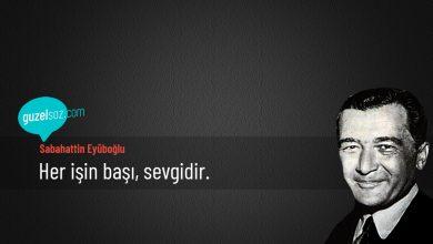Photo of Sabahattin Eyüboğlu Sözleri