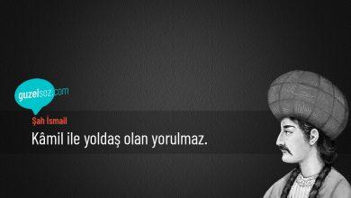 Photo of Şah İsmail Sözleri