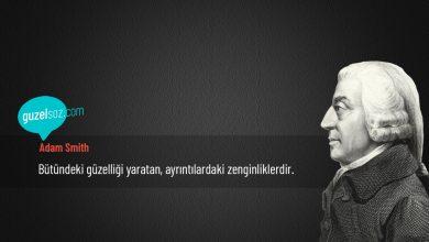 Photo of Adam Smith Sözleri