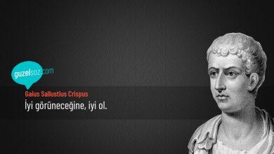 Photo of Gaius Sallustius Crispus Sözleri