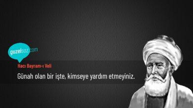 Photo of Hacı Bayram-ı Veli Sözleri
